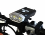 Fenix BC30R USB Rechargeable Bike Light - 2 x CREE XM-L2 T6 LEDs - 1600 Lumens - ISPO Award Winner - Includes Built-in Battery Pack