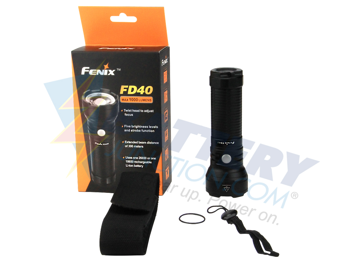 Fenix FD40 Focusable Flashlight - CREE XP-L HI LED