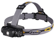 Fenix HL55 Lightweight Headlamp - CREE XM-L2 U2 LED - Neutral White - 900 Lumens - Uses 2 x CR123As or 1 x 18650