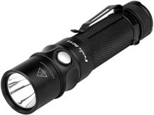 Fenix RC11 Rechargeable Flashlight with Magnetic Charging Cable - CREE XM-L2 U2 LED - 1000 Lumens - Uses 1 x 18650 (Included) or 2 x CR123A
