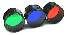 Fenix Flashlights Filters (Blue & Red) for TK Series: TK10, TK11 & TK20