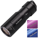 Fenix UC02 USB Rechargeable Keylight - CREE XP-G2 S2 LED - 130 Lumens - Includes 1 x 10180 - Black, Blue or Purple