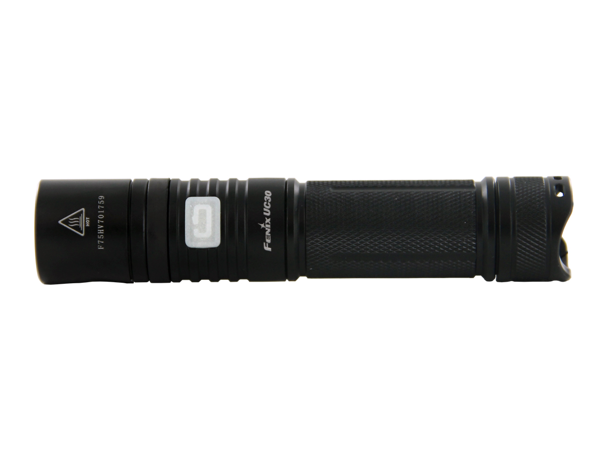 Fenix UC30 USB Rechargeable Flashlight - CREE XM-L2 U2 LED - 960 Lumens - Uses 2 x CR123A or 1 x 18650 (Included)