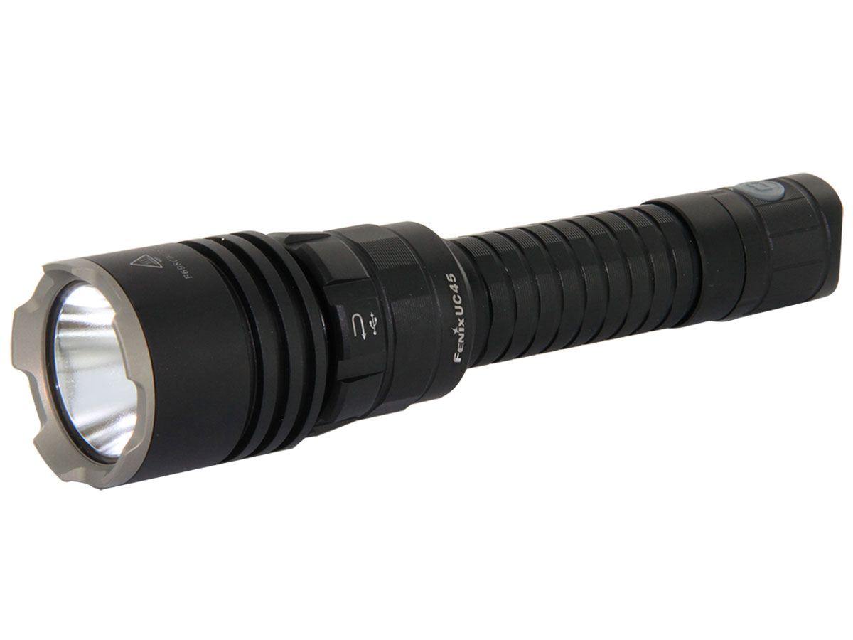 Fenix UC45 USB Rechargeable Flashlight - CREE XM-L2 U2 LED - 960 Lumens - Includes Li-ion Battery Pack