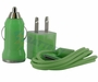 3-in-1 USB Charger Kit for iPhone and iPod