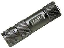 LumaPower IncenDio V3+ LED Flashlight - CREE XP-G2 (R5) LED -  450 lumens - Uses 1x CR123A / 16340