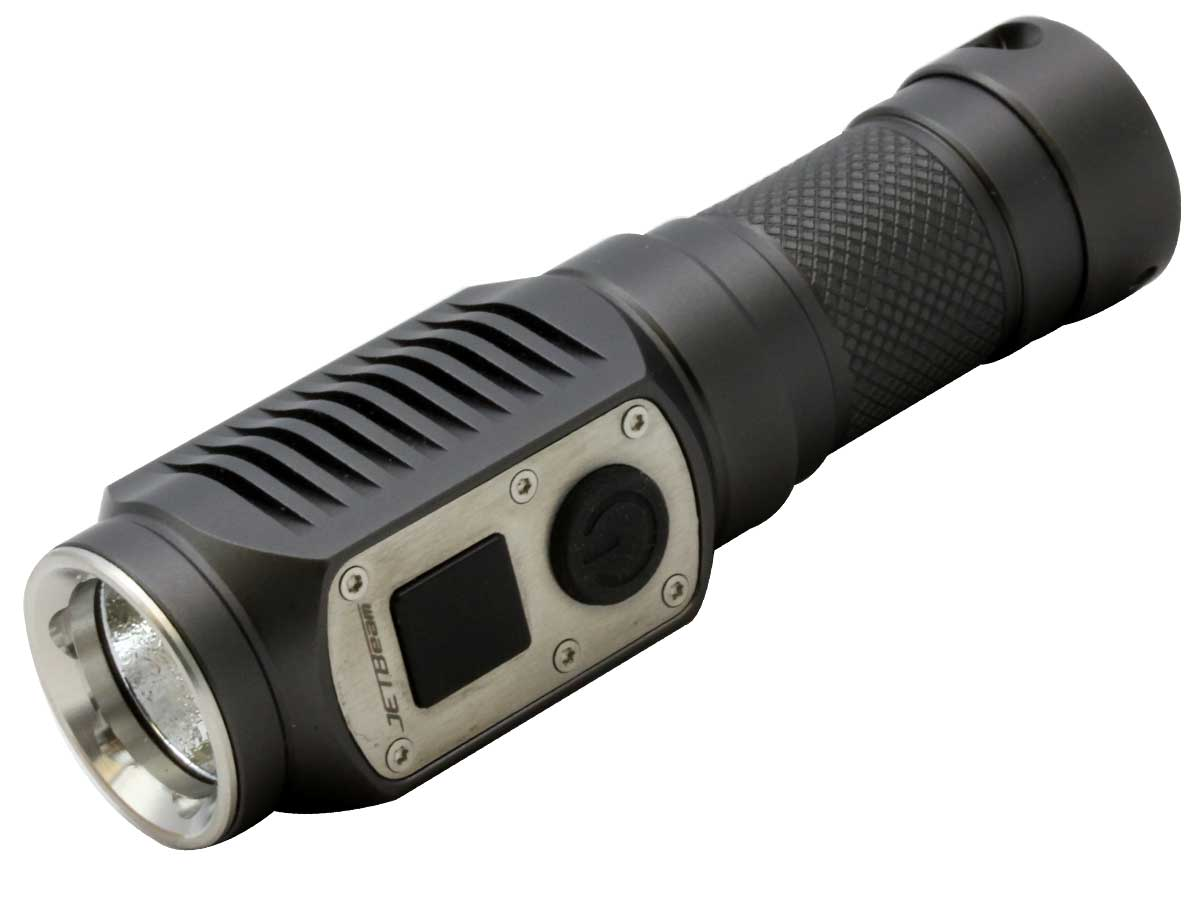 JETBeam DDC10 Digital Display Flashlight - CREE XP-G2 R5 LED - 285 Lumens - Uses 1 x CR123A