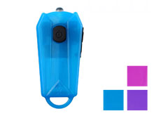 JETBeam E0 USB Rechargeable LED Keylight - 50 Lumens - Includes Battery Pack - Blue, Pink or Purple