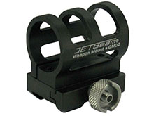JETBeam GM-02 Weapon Mount / RM01 Picatinny Rail Mount - Fits 1 Inch Diameter Flashlights, Including JETBeam Raptor RRT-2