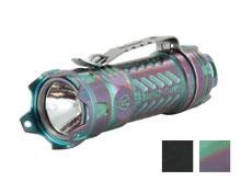 JETBeam JET-II PRO Ti Titanium Flashlight - CREE XP-L HI LED -  510 Lumens -Uses 1 x CR123A or 1 x 16340 - Titanium or Purple