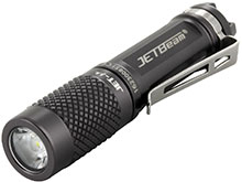 JETBeam JET-Mu Everyday Carry Flashlight - CREE XP-G2 LED - 135 Lumens - Uses 1 x AAA