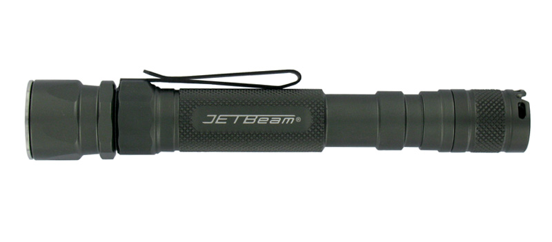 JetBeam Jet-1 Pro EX 3.0 LED Flashlight, Cree R2 LED, 225 Lumens, 2 x AA Batteries
