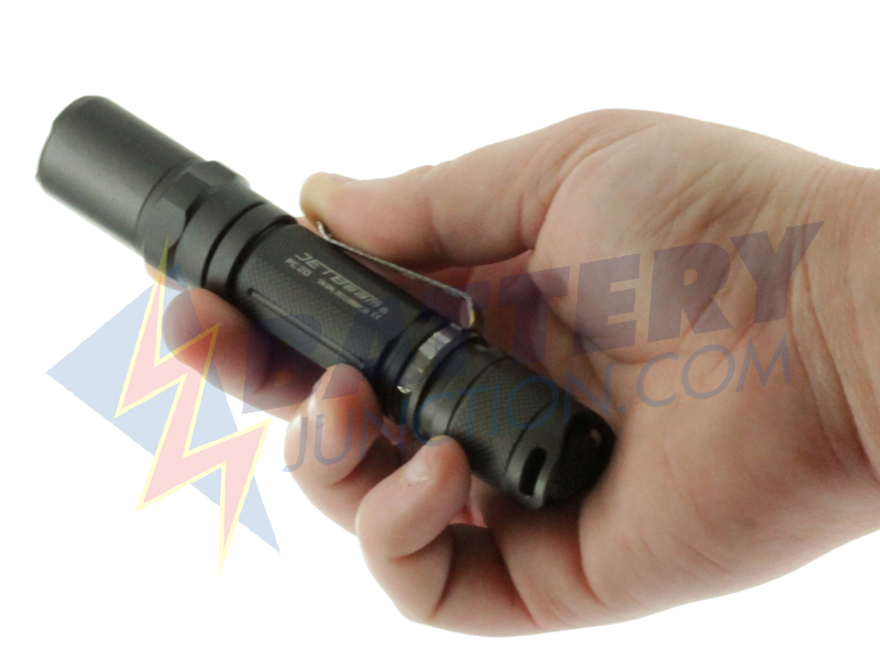 JETBeam PC20 - 410 Lumen XML T6 LED Flashlight  - Uses 2x CR123/RCR123