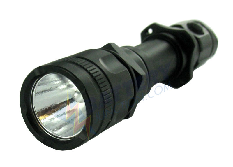 JETBeam PC25 LED Flashlight with 408 Lumen CREE XM-L T6 LED - Uses 2xCR123A or 1x18650