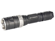 JETBeam RRT-2 Raptor Tactical Flashlight - CREE XM-L T6 LED - 460 Lumens - Uses 2 x RCR123A/CR123As or 1 x 18650