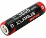 Klarus 18GT 18650 3600mAh 3.6V Protected Lithium Ion (Li-ion) Button Top Battery for XT11GT - Plastic Box