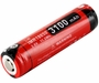 Klarus 18GT IMR 18650 3100mAh 3.6V Protected High-Drain 12A Lithium Manganese (LiMn2O4) Button Top Battery - Plastic Box