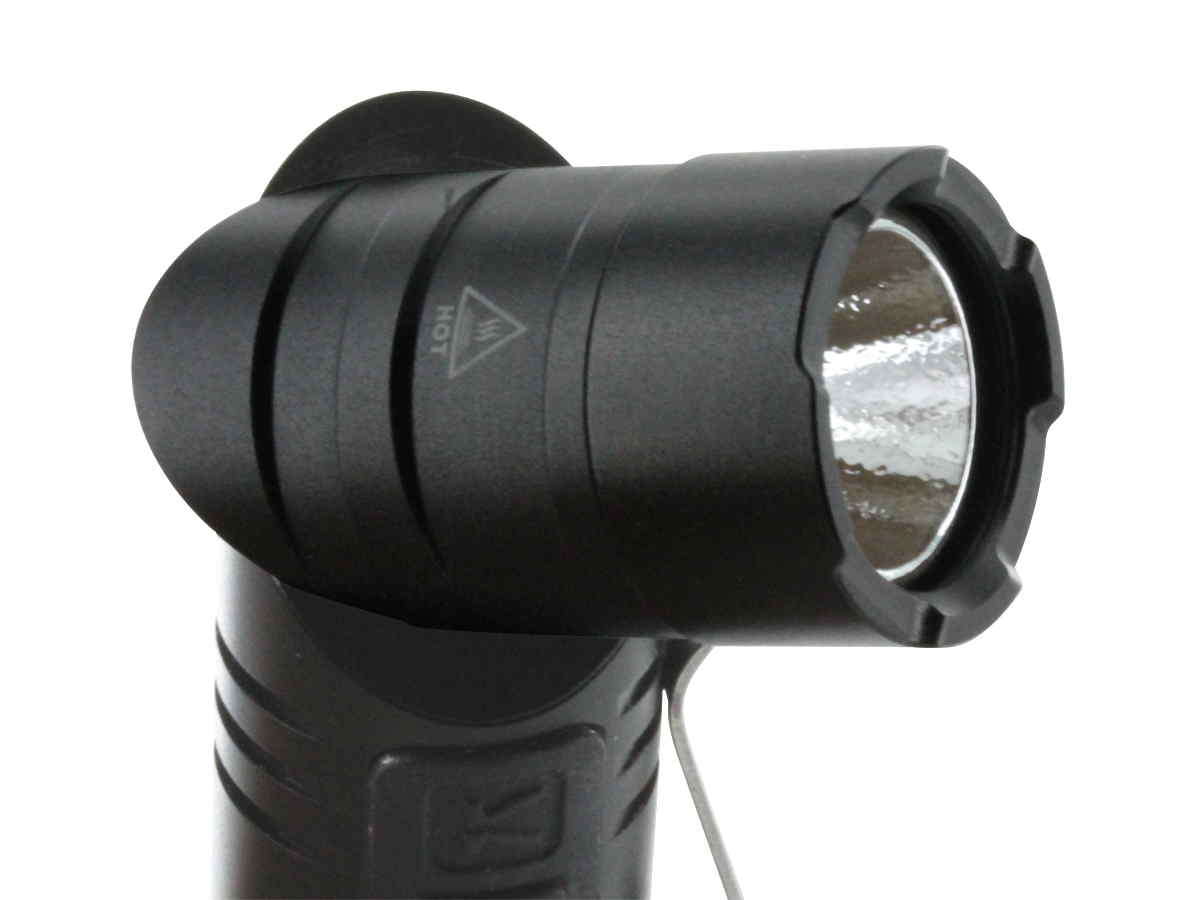 Klarus AR10 Rechargeable Angle Light - CREE XM-L2 U2 LED - 1080 Lumens - Uses 1 x 18650 (Included) or 2 x CR123A