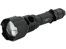 Klarus FH10 Multicolor Flashlight - Red, White and Green LEDs - 700 Lumens - Uses 1 x 18650 (Included) or 2 x CR123A