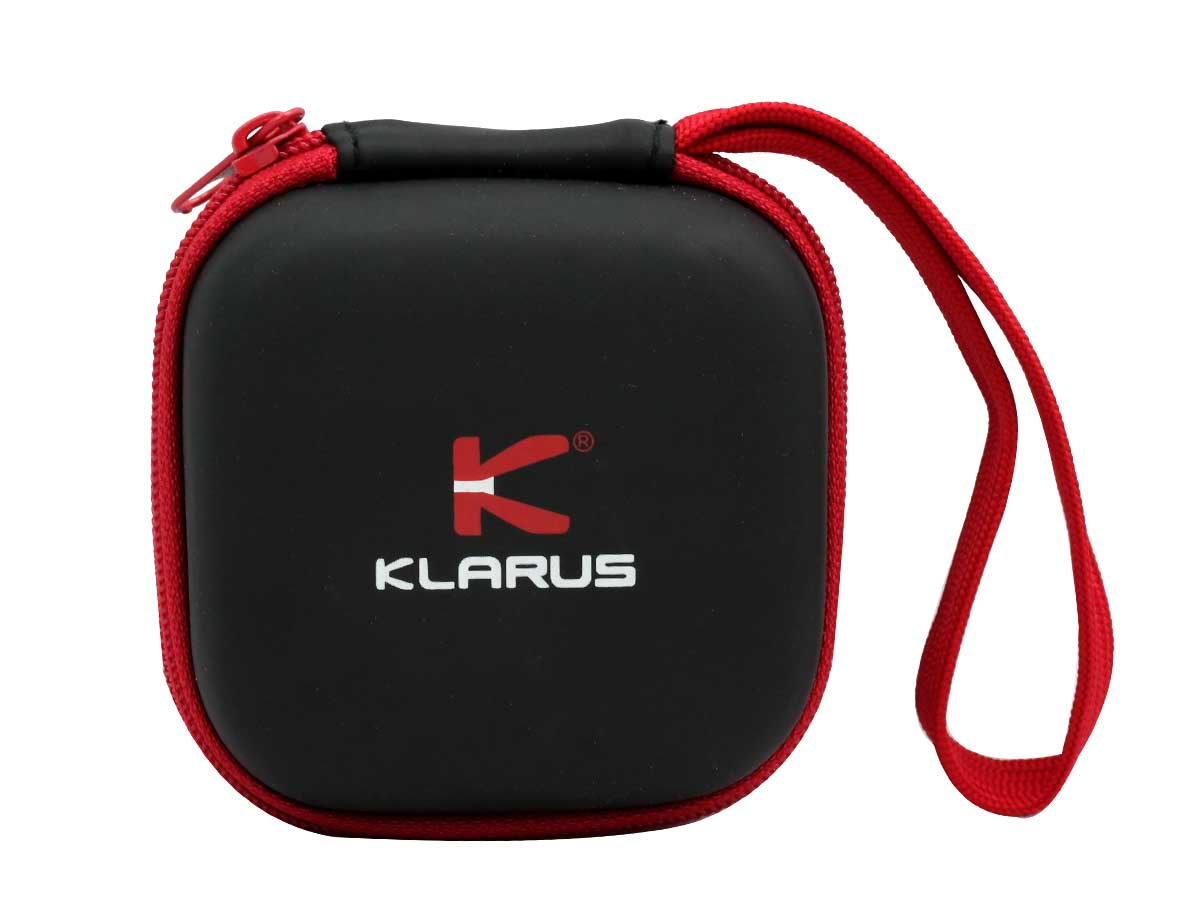 Klarus H1A Titanium LED Headlamp - CREE XP-L V3 - 550 Lumens - Uses 1 x 14500 (Included) or 1 x AA