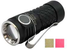 Klarus Mi1C LED Flashlight - CREE XP-L HI V3 LED - 600 Lumens - Uses 1 x RCR123A (Included) or 1 x CR123A
