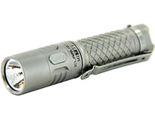 Klarus Mi7 TI Mini-Might EDC Flashlight - CREE XP-L HI V3 LED - 700 Lumens - Titanium Body - Uses 1 x AA (Included) or 1 x 14500