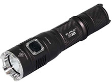 Klarus RS1A Rechargeable LED Flashlight with CREE XP-G2 LED up to 210 Lumens - Uses 1 x NiMH AA