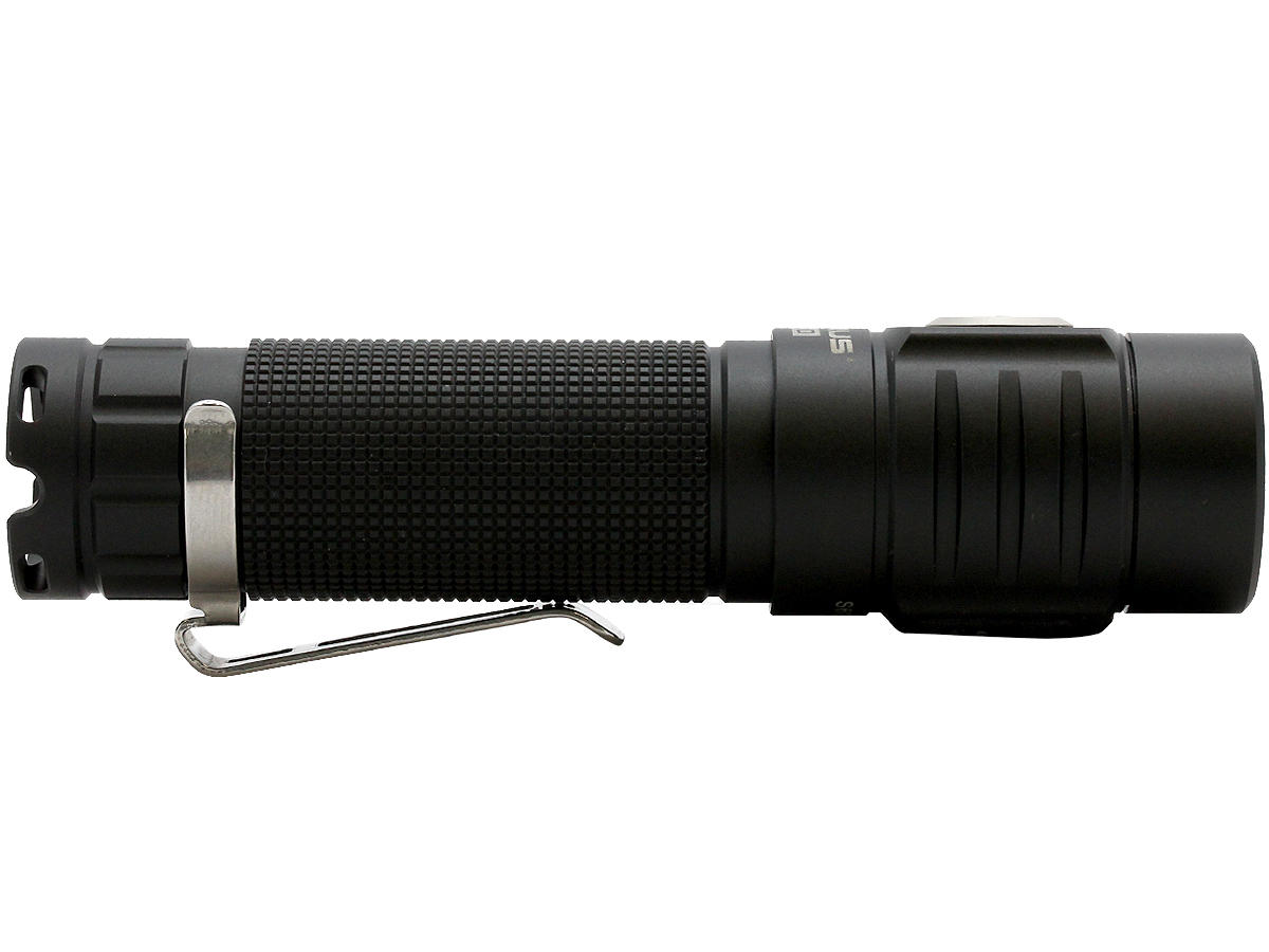 Side Shot of the Klarus ST10 Rechargeable LED Flashlight
