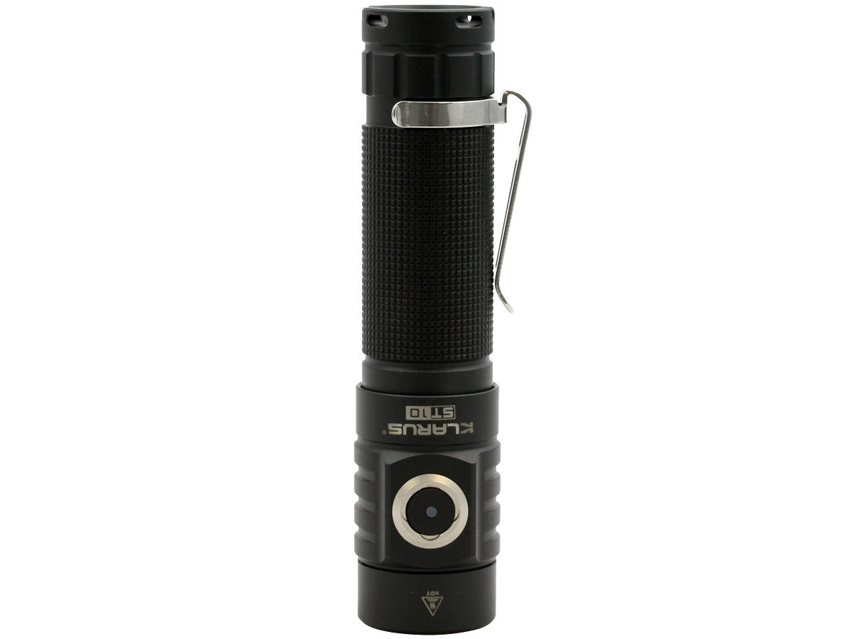Standing Shot of the Klarus ST10 Rechargeable LED Flashlight