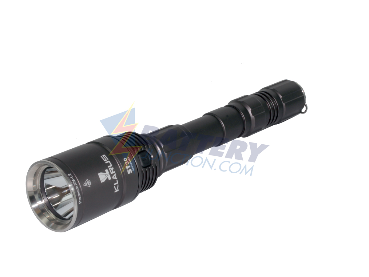 Klarus ST30 LED Flashlight -  1080 Lumens CREE XM-L2 LED - Uses 2 x 18650 Batteries