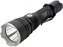 Klarus XT12GT Rechargeable LED Flashlight - CREE XHP35 HI D4 LED - 1600 Lumens - Uses 1 x 18650 (Included) or 2 x CR123A