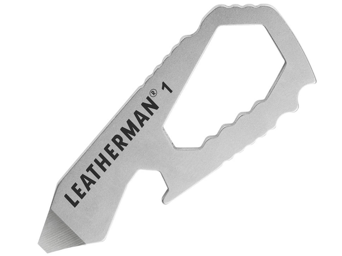 Leatherman By the Numbers #1 One Piece Pocket Tool - Peghook Packaging (832116)