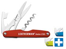 Leatherman Juice CS3 Multi-Tool - Comes in a Variety of Colors and Packaging (MPNs 832369, 832372, 832371, 832374, 832370, 832373)