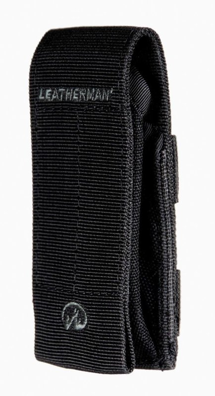 Leatherman Kick Multi-tool with Black Oxide Finish in MOLLE Holster and optional Cap Crimper in Box Packaging