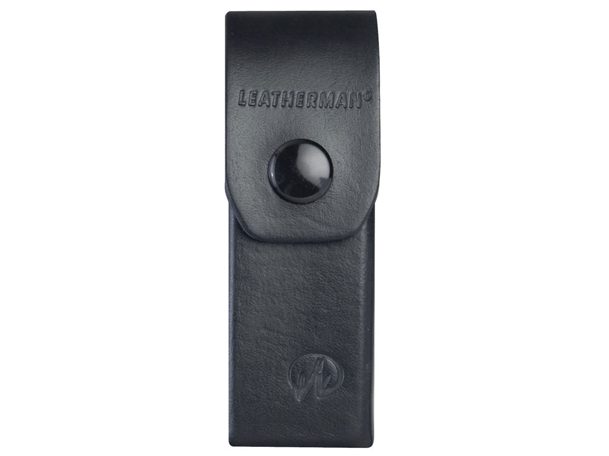 Leatherman 4-inch Leather Sheath for Rebar, Wingman, Sidekick and Rev Multi-Tools (938650)