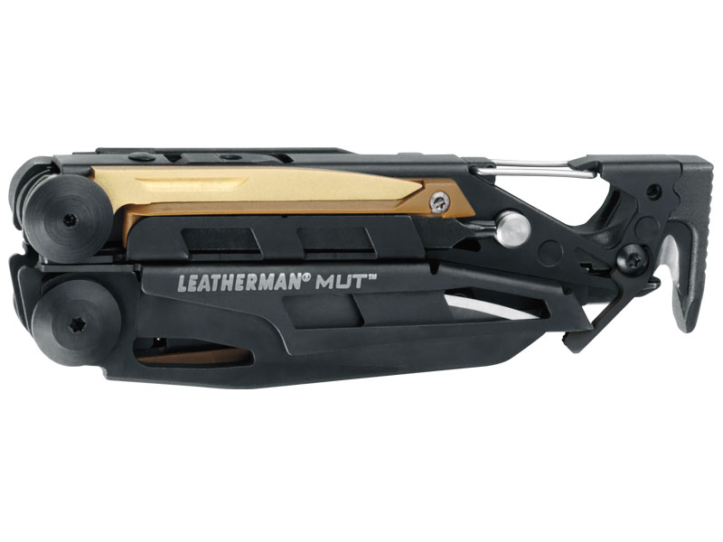 Leatherman MUT EOD Multi-Tool - Black with Black or Brown MOLLE Sheath - Box Packaging