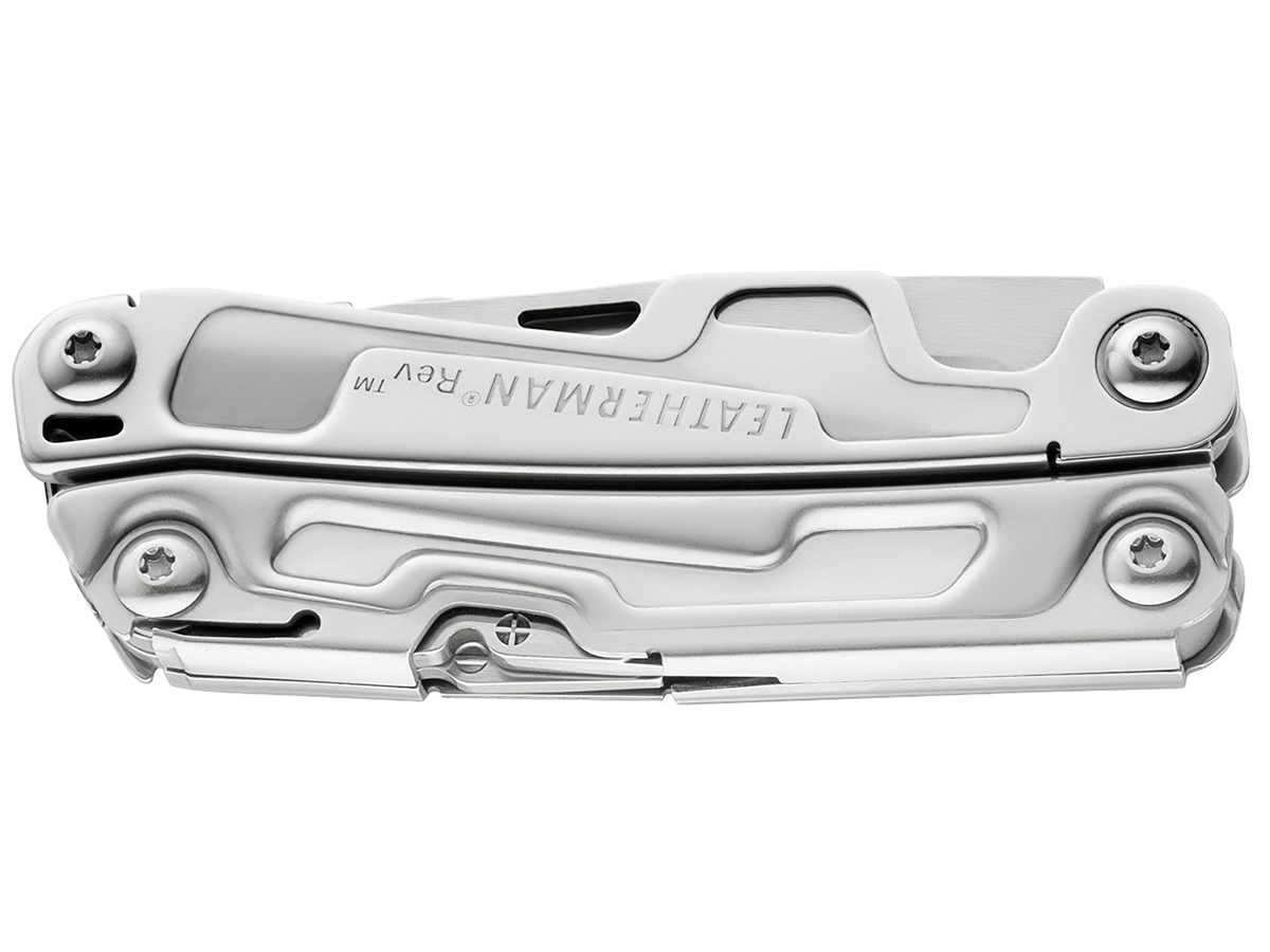 Leatherman Rev Full-Size Multi-Tool with Knife - Available with (832133) or without Sheath (832127) - Boxed
