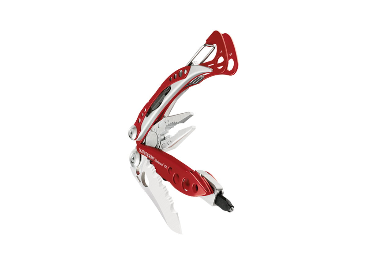 Leatherman Skeletool RX Rescue Multi-Tool with Knife - Available with or without Sheath - Boxed