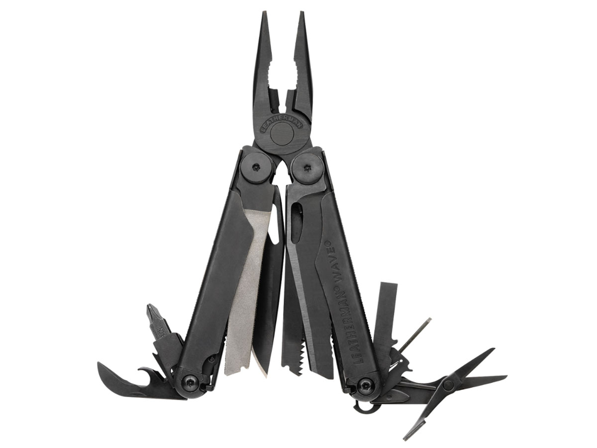 Leatherman Wave Multi-Tool - Black or Stainless Steel - Choice of Sheath - Box Packaging