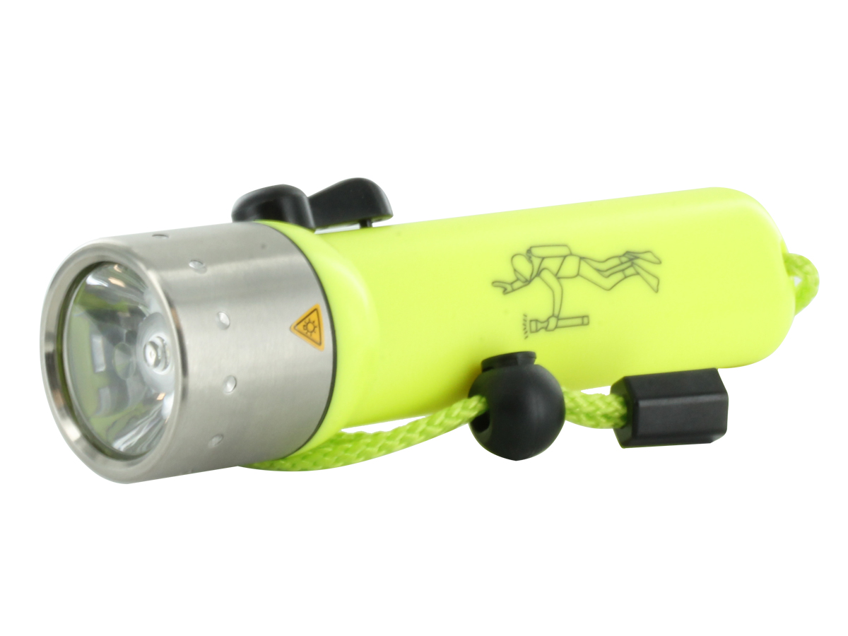 Ledlenser D14 Diving Series LED Flashlight - 135 Lumens - Uses 4 x AA (Ledlenser 880042)