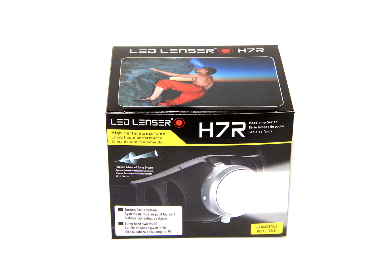 Ledlenser H7R Rechargeable LED Headlamp - 200 Lumens - Runs on 3x AAA NiMh/Alkaline (NiMh Batteries Included) (LED-LENSER-880021)