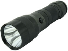 LumaPower Mentor SX SideKick IV LED Flashlight with CREE XM-L U2 Cool White LED - Uses 1 x C or 3 x C or 3 x AAA
