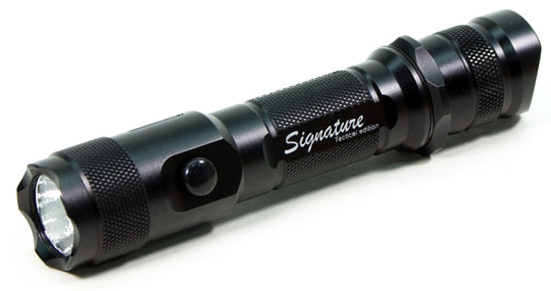 Lumapower Signature Tactical LED Flashlight, Cree R2 LED,  280 Lumens 2xCR123A 1X18650