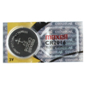 Maxell CR2016 90mAh 3V Lithium (LiMNO2) Coin Cell Battery - 1 Piece Tear Strip, Sold Individually
