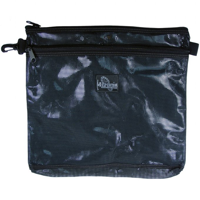 Maxpedition 1808 Moire 12 x 12 Pouch- Black