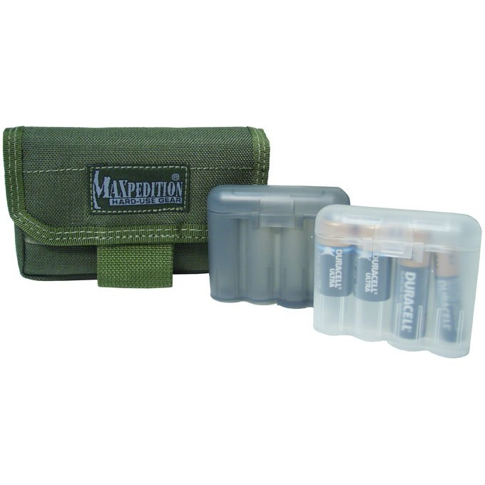 Maxpedition 1809 VOLTA Battery Pouch Black, Green, or Khaki