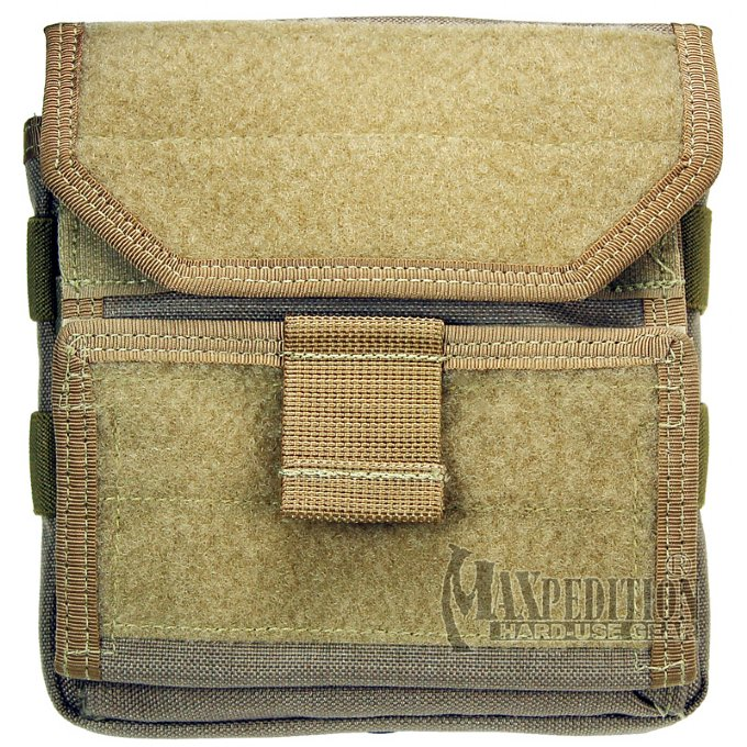 Maxpedition 9811 Monkey Combat Admin Pouch - Black, Khaki, OD Green, and Foliage Green