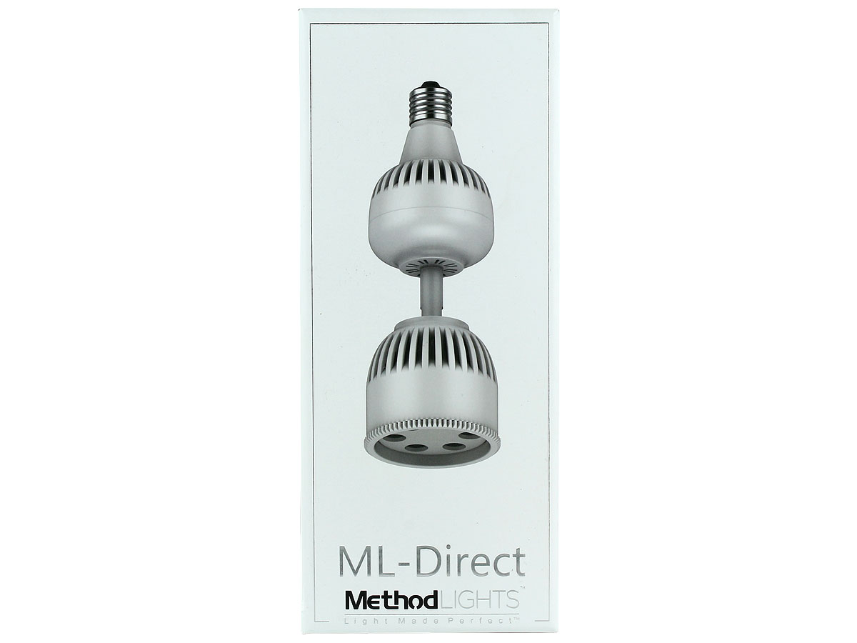 Method Lights ML-Direct LED Picture Light - 1700 Lumens - Includes Remote Control - Bulb Compatible with Recessed and Track Lighting Fixtures