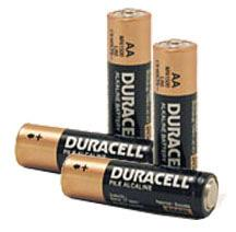 AA Duracell CopperTop Alkaline Battery Uncarded Bulk MN1500 MN-1500