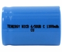 Tenergy 20303-1 4/5 Sub C 1300mAh 1.2V Nickel Cadmium (NiCd) Battery with or without Tabs - Bulk